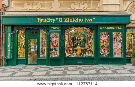 Art Nouveau Toy Store In Prague In Prague