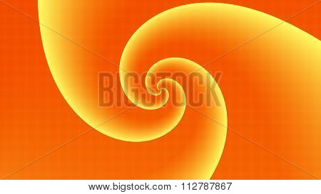 Orange Twirl Background