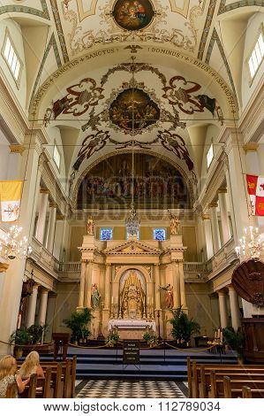 New Orleans Saint Louis Cathedral Main Altar