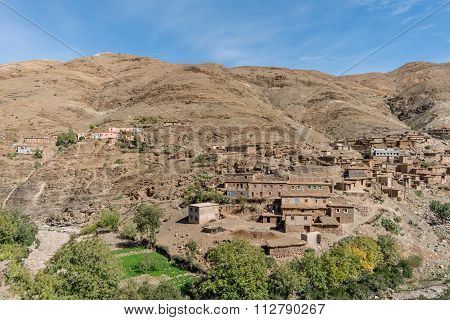 Village in Atlas mountains