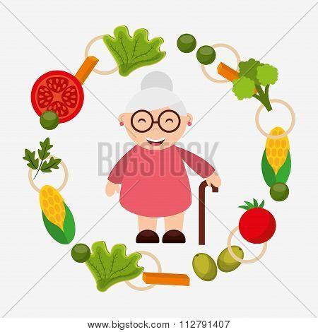 menu grandparents design