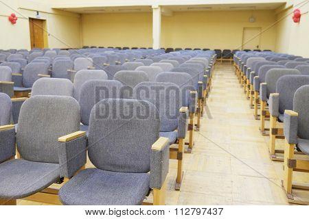 Interior of a auditorium