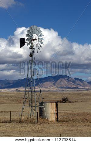 Ranch Windmill in Arizona
