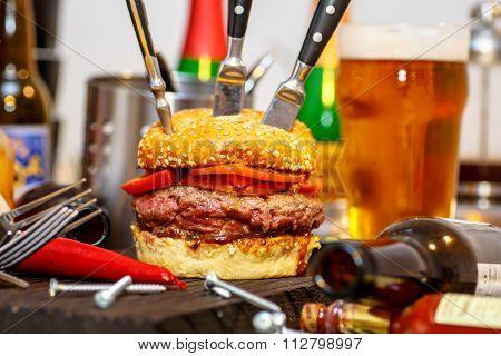 burger For Real Men.