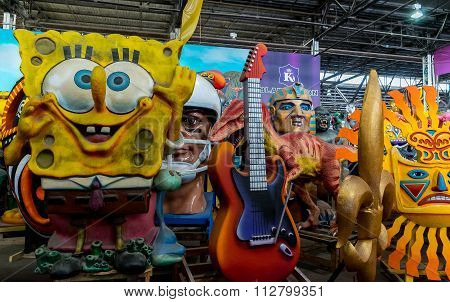 New Orleans Mardi Gras World Eclectic Collection