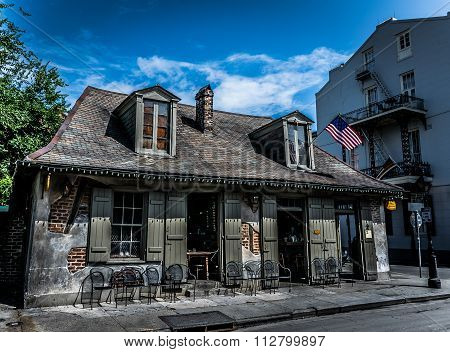 New Orleans Bourbon Street Blacksmith Bar