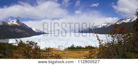 Above Boardwalk, Perito Moreno Glacier, Los Glaciares National Park, Argentina