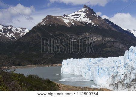 Calving Of Perito Moreno Glacier, Los Glaciares National Park, Argentina