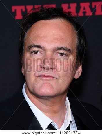 LOS ANGELES - DEC 07:  Quentin Tarantino arrives to the