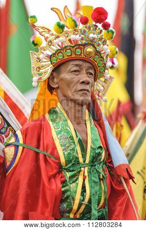 Shaman of Singkawang, West Kalimantan, Indonesia.
