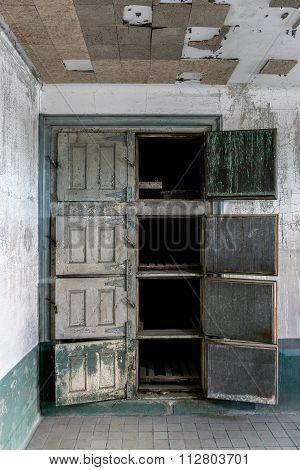 New York City Ellis Island Infirmary Morgue