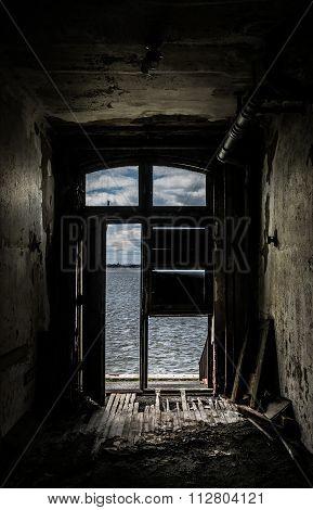 New York City Ellis Island Infirmary Decay and Depression