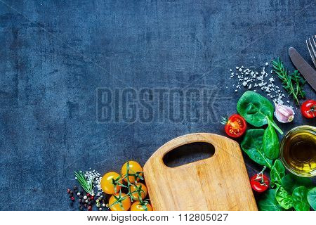 Fresh Vegetables Ingredients