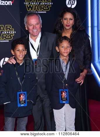 LOS ANGELES - DEC 14:  Wolfgang Puck & Gelila Assefa arrives to the