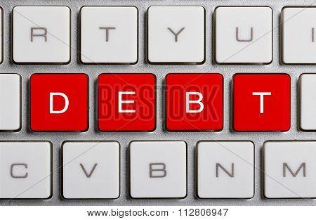 Debt On Keyboard
