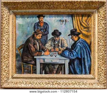 New York City The Met - Paul Cezanne, The Card Players