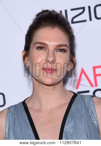LOS ANGELES - NOV 12:  Lily Rabe arrives to the AFI Fest 2015 Closing Gala 'The Big Short' World Premiere  on November 12, 2015 in Hollywood, CA.