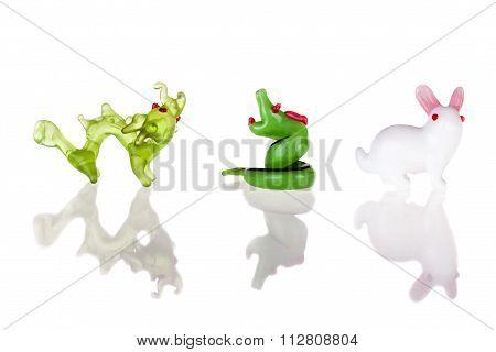 Dragon Snake And Rabbit