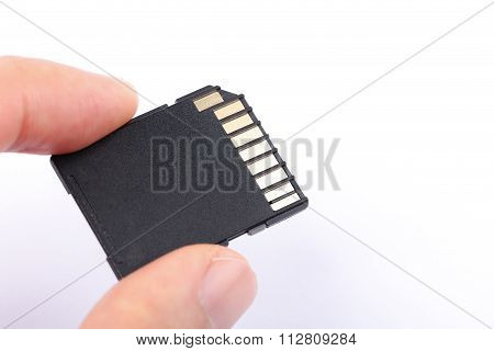 Sd Memory Card With Finger