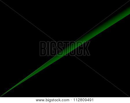 Abstract Gradient Green Line