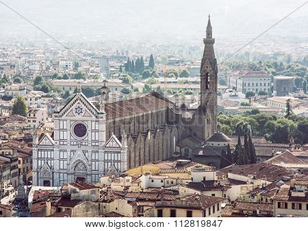 Basilica Of Santa Croce, Florence, Italy, Magnificent Renaissance City