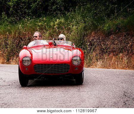 FERRARI 500 Mondial Spider Pinin Farina 1954