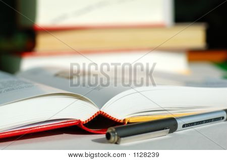 Books And Pen