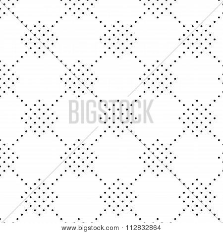 Vector illustration seamless pattern of dots