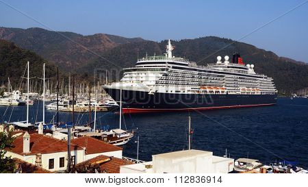 Marmaris, Turkey - July 28, 2015.SHIP