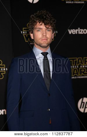 LOS ANGELES - DEC 14:  Austin Swift at the