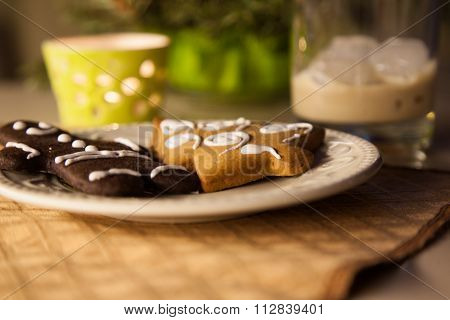Gingerbread On The Table