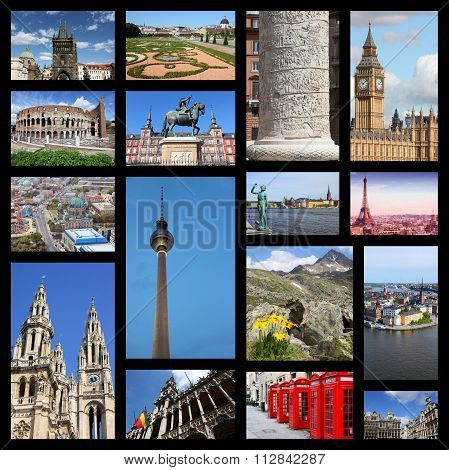 Europe Collage