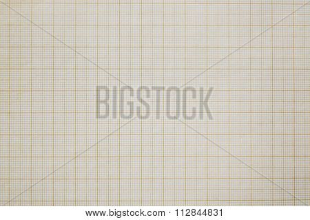 Old measurement grid scale paper