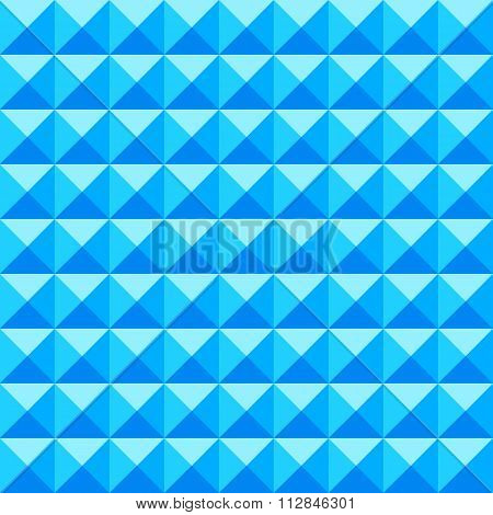 Abstract Geometric Background Of Spikes. Vector Seamless Geometric Pattern.