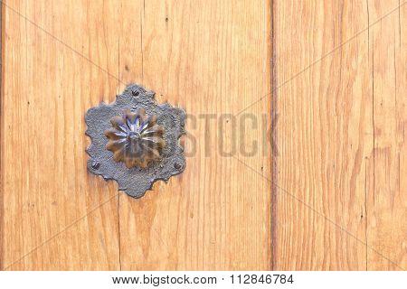 Hexagonal door handle