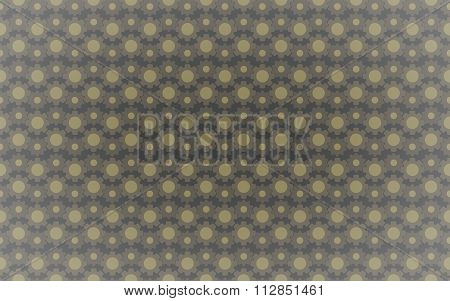 Not-seamless Under Construction Abstract Gears Background Pattern