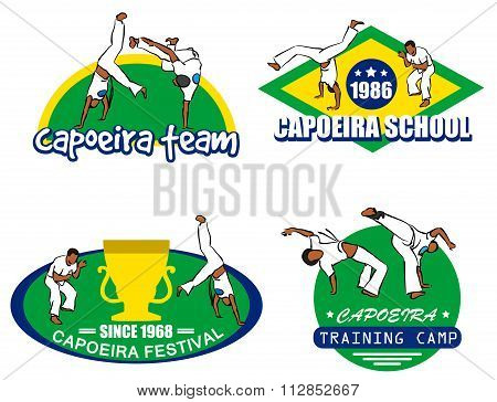 Capoeira Logo Set