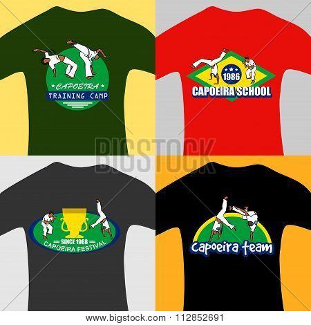 Vector Capoeira Prints