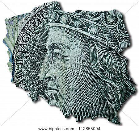 100 Polish Zloty Or Pln.