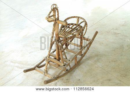 rattan rocking chair