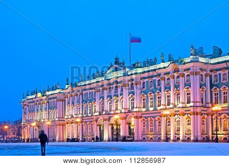 Saint-Petersburg. Russia.The State Hermitage Building