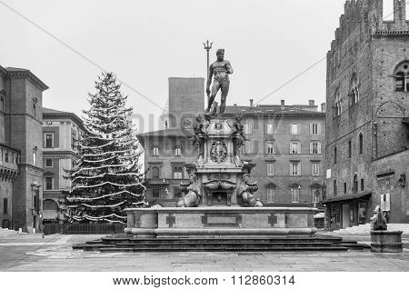 The Fountain Of Neptune, Bologna, Italy
