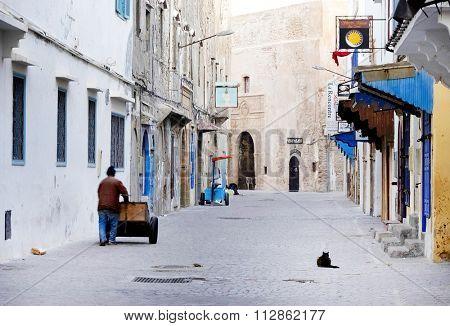 MOROCCO - 25-10-2015 - Old medina of Essaouira, Morocco, Africa