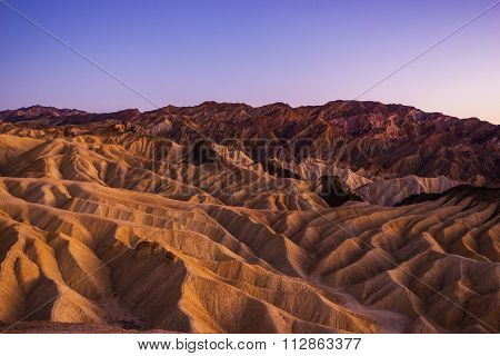 Death Valley Scenic Landscape