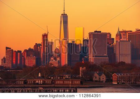 Manhattan Sunset Nyc