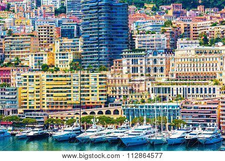 Monte Carlo Urban Scene