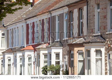Terrace Housing Cardiff Wales