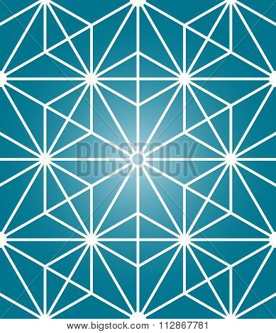 Vector Modern  Sacred Geometry Seamless Pattern