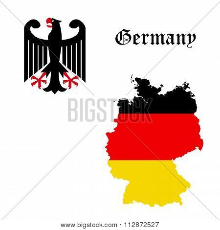 Germany concept vector illustration
