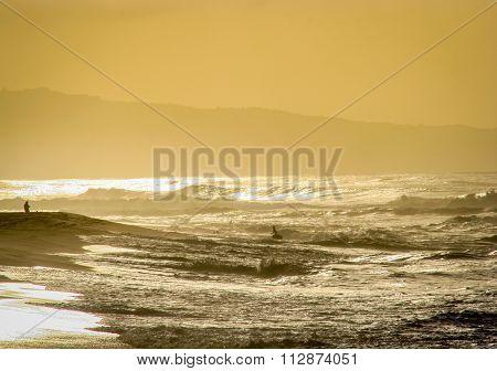 Sunset Beach Aglow